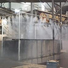 毕节厂房喷雾降尘,高压喷雾降尘,绿色环保图片