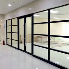 广东办公室玻璃隔断价格图片