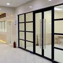 南昌办公室玻璃隔断厂家定制图片
