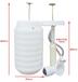 旱廁改造壓力沖水桶肥西縣紫蓬鎮廁所革命
