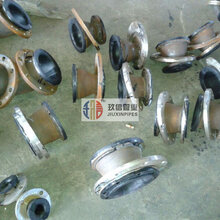 硫化罐工艺衬橡胶复合钢管/衬胶管道/衬胶钢管/耐冲击性能/选型标准/专业厂家图片