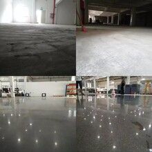 水磨石无尘打磨抛光固化晶面处理—厂房地面翻新硬化图片