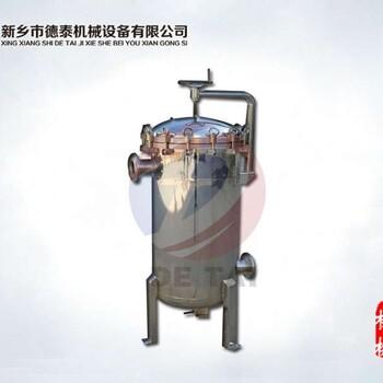 DT系列高精度-大流量多袋式精密過濾機