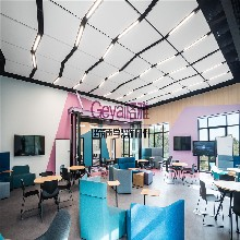 山东格雅建筑装饰材料有限公司玻纤吸音悬挂造型板图片