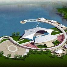 杭州膜結構觀景棚生產廠家圖片