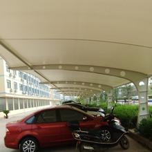 上海宝山区膜结构停车棚图片