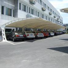 上海小區膜結構停車棚直銷圖片