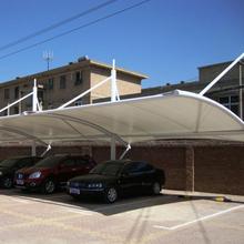 杭州小區膜結構停車棚報價圖片