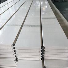 加油站鋁條天花吊頂300mm鋁條扣吊頂圖片