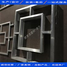 衡阳餐饮连锁店铝花格规格齐全厂家图片