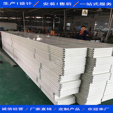 德普龙建材竞博国际s形长条铝扣板,九江新能源油站防风铝条扣图片