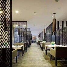 高檔餐廳裝修不銹鋼黑鈦金裝飾屏風黑鈦金屏風圖片