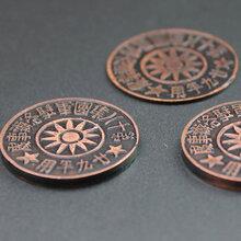 河南浮雕廠家來圖定制純銅浮雕工藝品古玩古幣紀念幣圖片