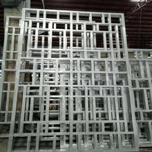 海南木纹铝窗花厂家批发图片