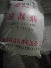 安岳水泥速凝剂快速凝固厂家直供图片