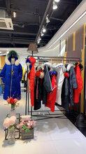 上海知名品牌溆牌羽绒服品牌折扣女装批发货源图片