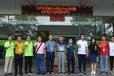 鶴山市鞋業協會領導暨會員單位代表團蒞臨一哥水性膠參觀指導