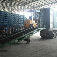 浙江移动式登车桥8吨物流装卸货升降台铲车装卸货过桥