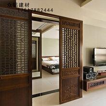 仿木铝窗花-木色铝合金窗花-木纹铝艺窗花烤漆铝窗花铝合金窗花厂家定制