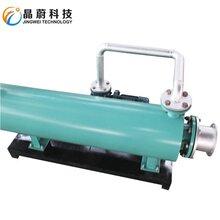 管道式气体电加热器压缩空气电加热管立式卧式管道发热管