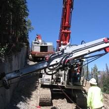 提供挖掘机改装钻机技术挖掘机改装潜孔钻机服务厂家改装图片