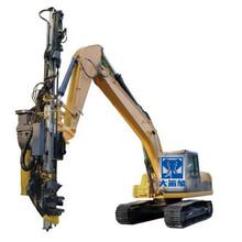 挖掘机改装成一台钻机需要多少钱实用吗图片