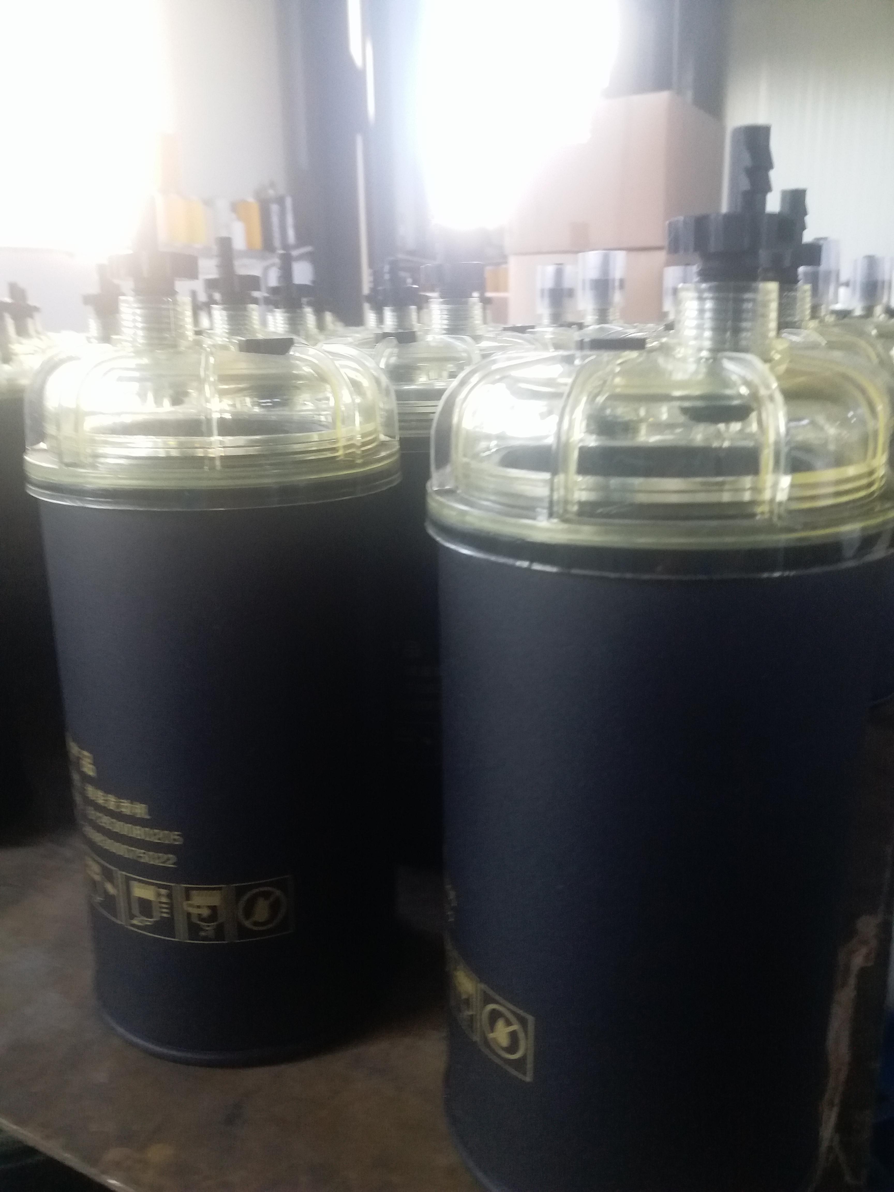 领创过滤供应PL420柴油滤清器电喷油水分离器磨砂体