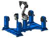 OTC焊接機器人工作站H形雙工位工作站