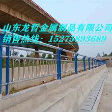 不锈钢栏杆桥梁防撞护栏景观河道护栏道路护栏厂家直销图片