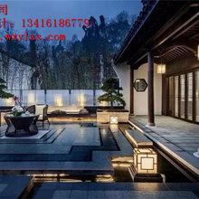 中式别墅庭院设计公司,尽力做好每一个环节-五行园林公司