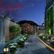 欧式别墅庭院设计案例,赢得市场无数次认可-五行园林公司