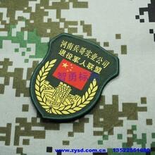 軍訓臂章廠家定做學生軍訓服臂章_學員肩章_社團軍樂隊袖標圖片