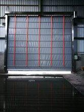 东莞莞城区快速堆积门堆积式快速门抗风性能强图片
