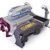 HOTRONIX气动双工位烫画机4050厘米,个性定制,适合大型工厂
