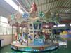 上傳動轉馬故障率低噪音小游樂場廣場的主推游樂設備