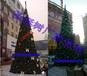 北京大型10圣诞树定制框架灯光圣诞树商场户外厂家亮化