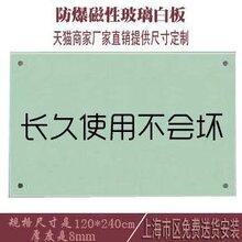 办公磁性玻璃白板北京定制挂式教学写字绿板培训钢化烤漆玻璃黑板图片