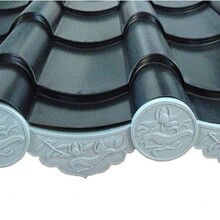 供应苏州建筑仿古铝合金瓦YX55-255-765型铝镁锰仿古瓦图片