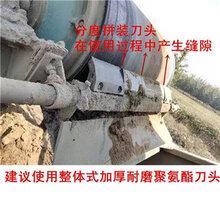 供应输送带P型聚氨酯清扫器H型合金输送带清扫器厂家图片