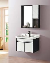 不銹鋼浴室柜組合洗手洗臉盆柜洗漱臺現代簡約衛生間浴室柜圖片