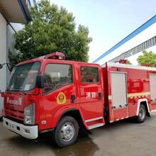 程力水罐消防車,懷化5噸消防車總代直銷圖片