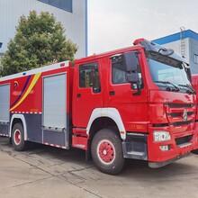程力水罐消防車,8噸消防車質量可靠圖片