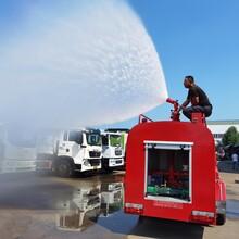 奎通专汽大型消防车,永州26吨小型消防车设计合理图片