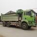 工地停工急處理18年國五德龍二手自卸車350馬力長5.8米高1.5米環保U型大箱