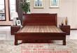 供應木言木語臥室實木床新中式實木雙人床