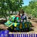兒童娛樂設備雙人坦克車越野坦克車電動坦克車