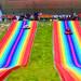山東金耀彩虹滑道七彩滑道大型四季可用游樂設備