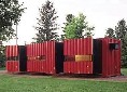 朝阳西坝河集装箱销售价格锐意进取?集成房屋出租移动厕所图片