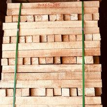 供应橡胶木规格料实木板材烘干板材海南橡胶木方条家具板材图片