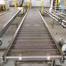 加密網鏈輸送機A不銹鋼食品網鏈輸送機廠家全304材質圖片
